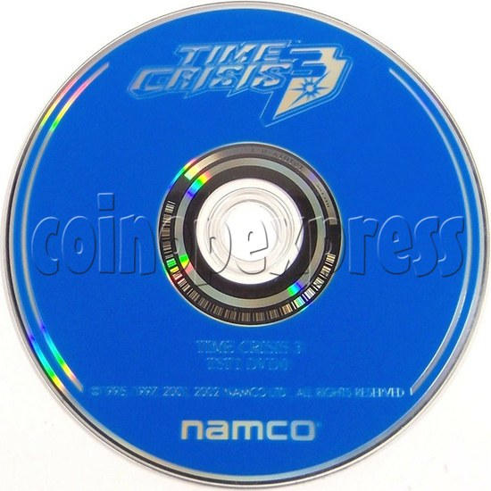 Time Crsis 3 Software CD