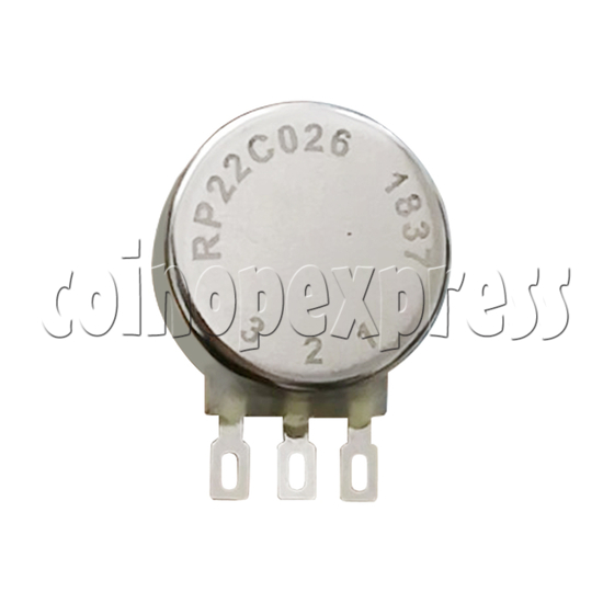 Potentiometer for Wangan Midnight Maximum Tune 3 DX Plus RP22C026 - front view