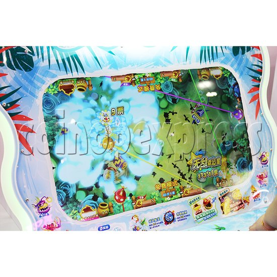 PAC Fish Ticket Redemption Arcade Game 4 Players Upright Type - screen display 1