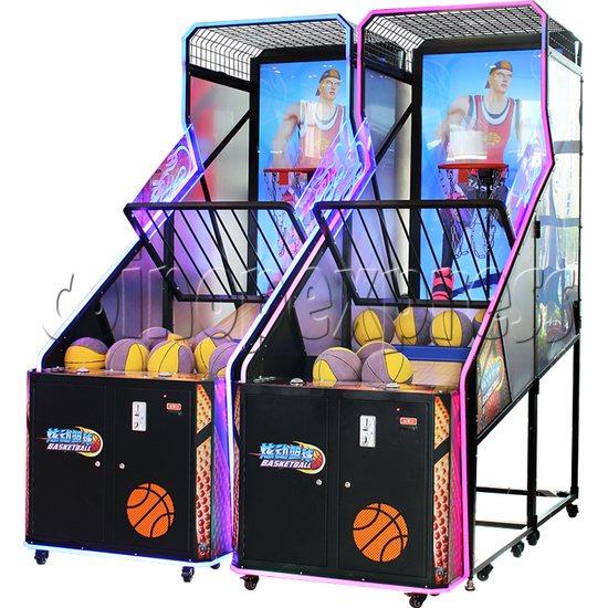 Storm Shot Basketball Arcade Ticket Redemption Game Machine - right view