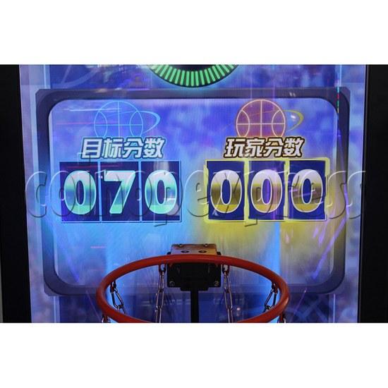 Storm Shot Basketball Arcade Ticket Redemption Game Machine - scores display