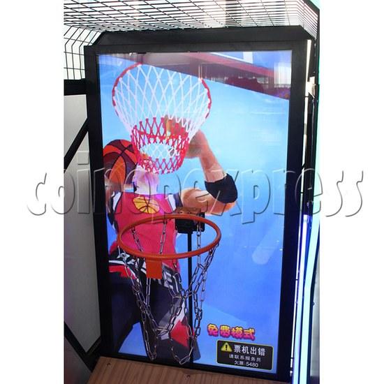 Storm Shot Basketball Arcade Ticket Redemption Game Machine - screen display