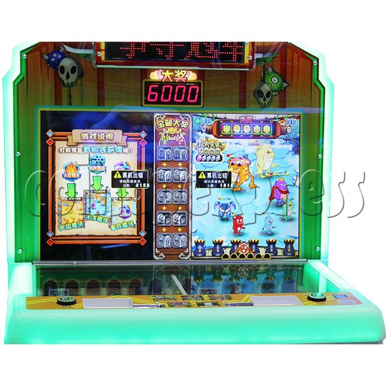 Monster Hunt Skill Test Redemption Machine (Asia version) - screen display 1