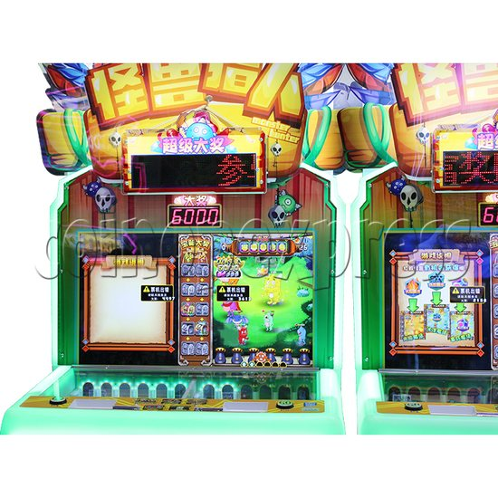Monster Hunt Skill Test Redemption Machine (Asia version) - screen display 2