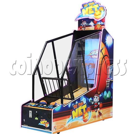 To Tha Net Junior Basketball Arcade Ticket Redemption Game Machine - right view