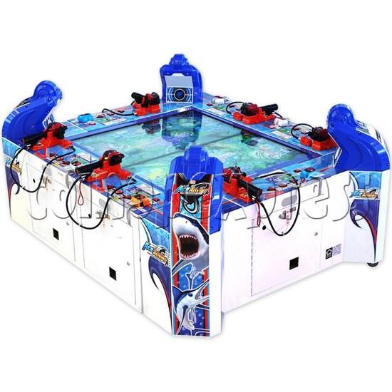 Ace Angler Fish Arcade Machine - angle view