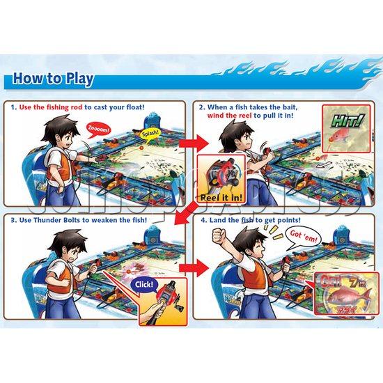Ace Angler Fish Arcade Machine - gameplay