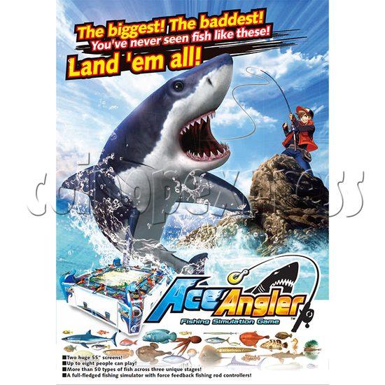 Ace Angler Fish Arcade Machine - catalogue 2