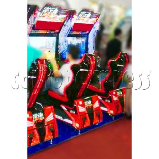Storm Racer Arcade Video Racing Game Machine - gameplay 2