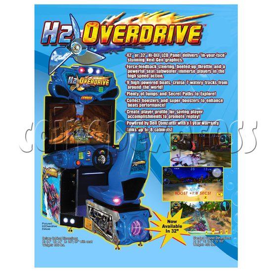 H2 Overdrive Arcade Game - catalogue 1