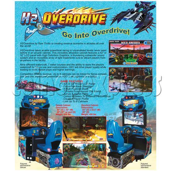 H2 Overdrive Arcade Game - catalogue 2