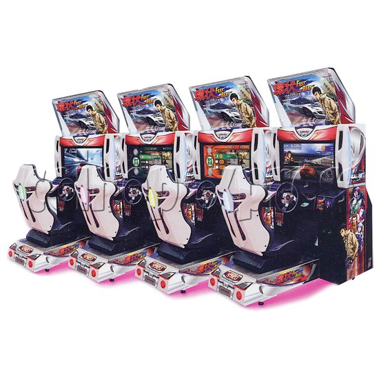 Fast Beat Loop Racer Arcade Video Racing Game Machine - power view