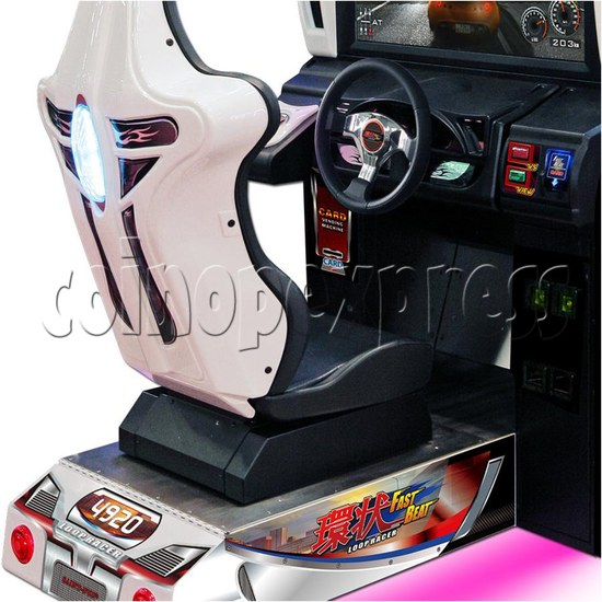Fast Beat Loop Racer Arcade Video Racing Game Machine - console