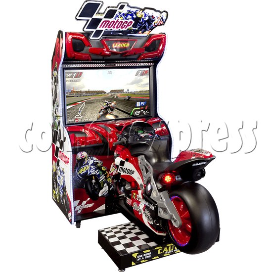MotoGP Arcade Video Racing Game Machine - left view