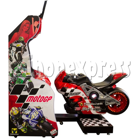MotoGP Arcade Video Racing Game Machine - side view