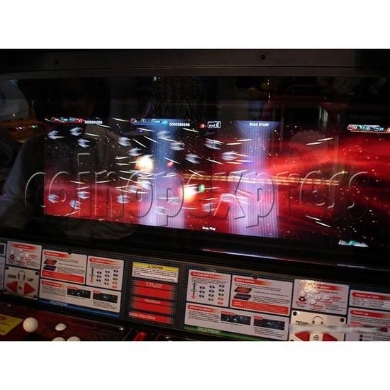 Darius Burst: Another Chronicle Shooting Game - screen display 1