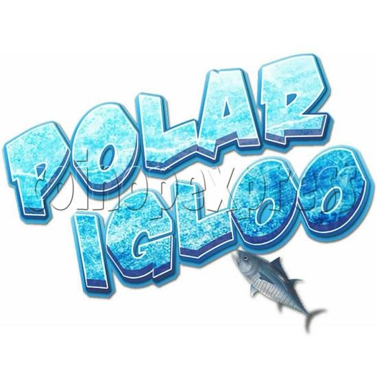 Polar Igloo Arcade Video Redemption Machine - logo