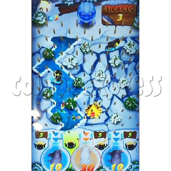 Polar Igloo Arcade Video Redemption Machine - screen display 2
