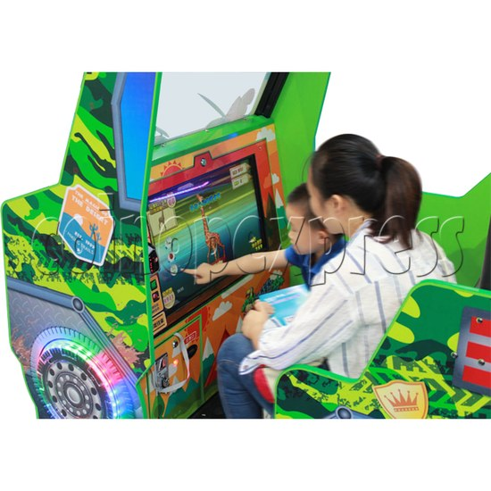 Zoo Explorer Jungle Theme Redemption Game Machine - play view