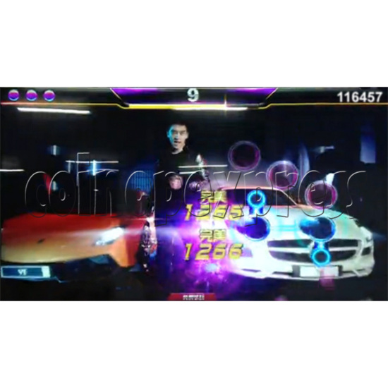 Top Star Multi-Touch Music Game Machine - screen display 3