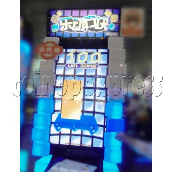 Tippin Blocks Video Ticket Redemption Machine - screen display 2