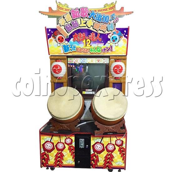 Taiko no Tatsujin 12 Arcade Machine Asia Version - front view