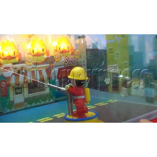 Fire Rescue Car Kiddie Rides Video Game Machine - gameplay