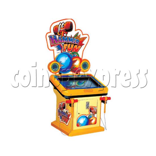 Hammer Fun Arcade Ticket Redemption Machine - left view