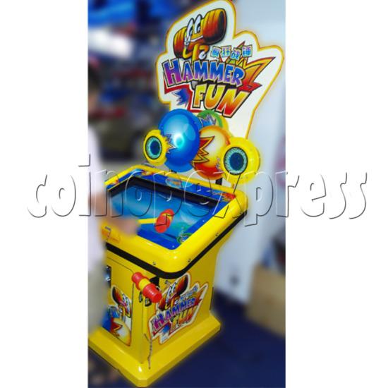 Hammer Fun Arcade Ticket Redemption Machine - play view