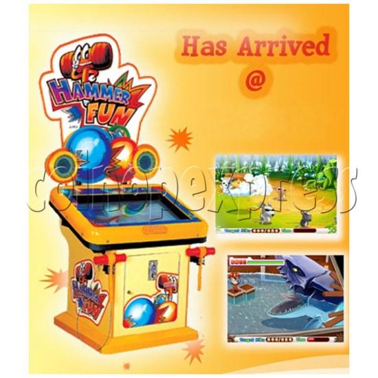 Hammer Fun Arcade Ticket Redemption Machine - catalogue