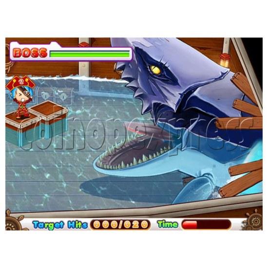 Hammer Fun Arcade Ticket Redemption Machine - screen display 2