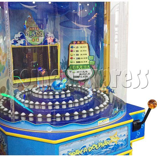 Spin A Dolphin Arcade Ticket Redemption Machine - console