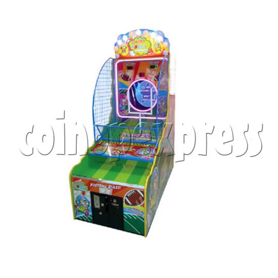 Cheeky Monkey Football Arcade Ticket Redemption Machine - right view