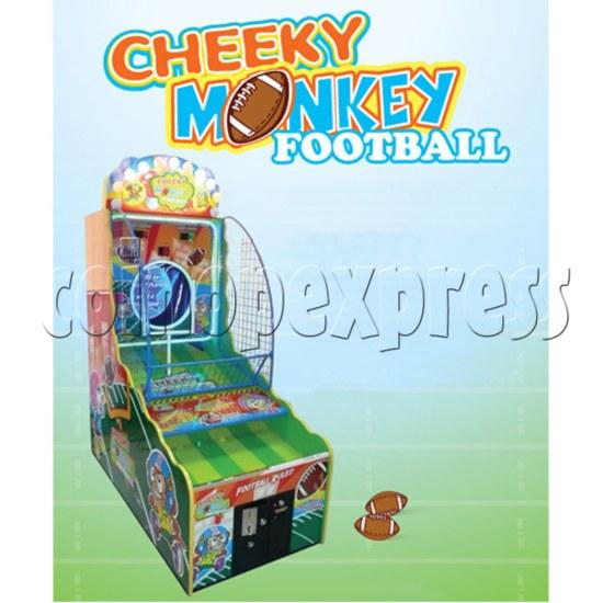 Cheeky Monkey Football Arcade Ticket Redemption Machine - catalogue