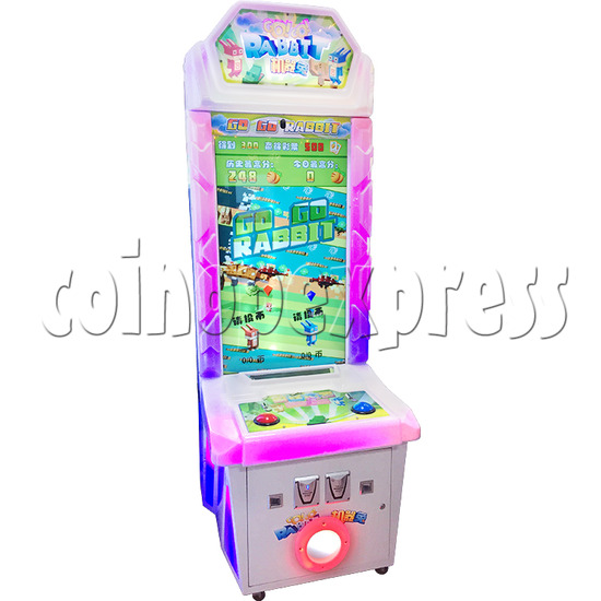 Go Go Rabbit Arcade Ticket Redemption Machine - left view