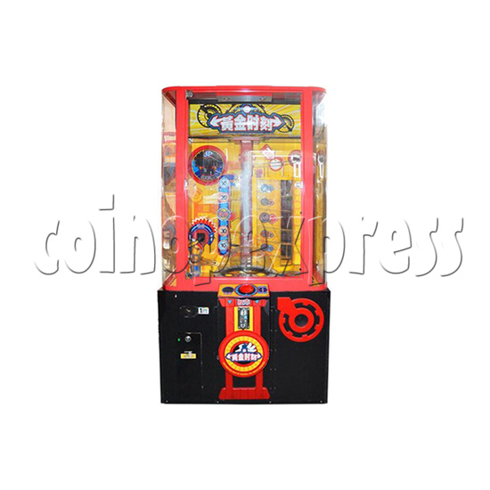 Golden Timing Arcade Ticket Redemption Machine - front view