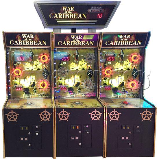 War Of The Caribbean Arcade Ticket Redemption Machine - front view