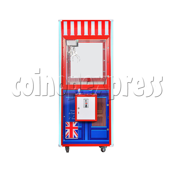 British Style Claw Crane Machine - 1 Player