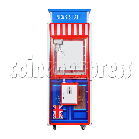 British Style Claw Crane Machine With Top - 1 Player