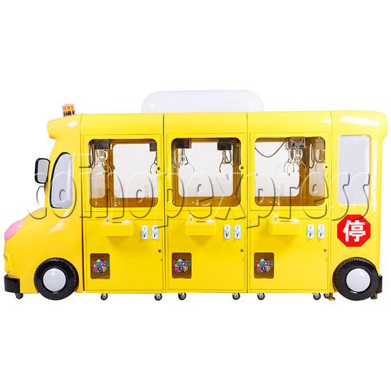 School Bus Mini Claw Crane Machine - 6 Players