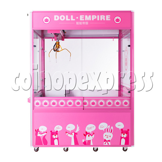 Doll Emprie Giant Claw Crane Machine - 1 Player