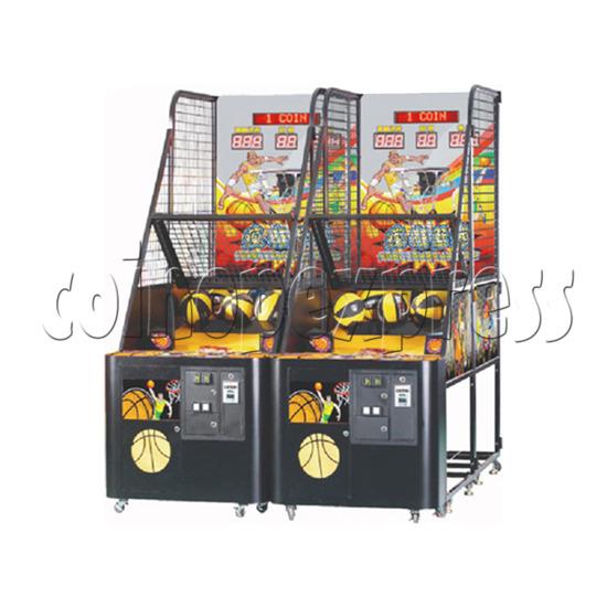 Crazy Basketball Arcade Basketball Shooting Machine