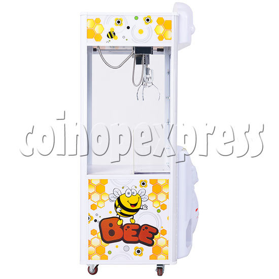 Honey Try Claw Crane Machine - 1 Player side view