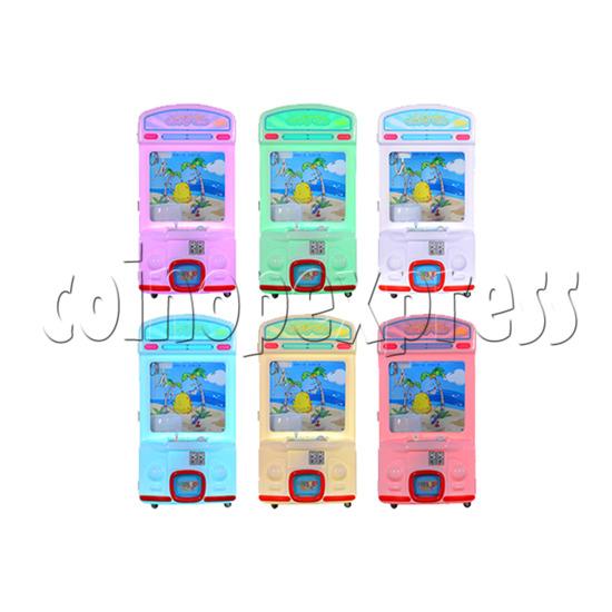 Toy Bus Claw Crane Machine - 1 Player power view