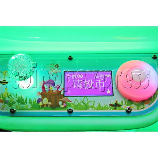 Mushroom Castle Claw Crane Machine - 1 Player control panel