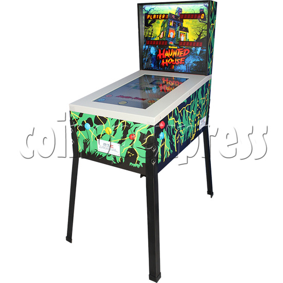 Haunted House Digital Pinball Machine with 12 Gottlieb Games (Toyshock) - right view