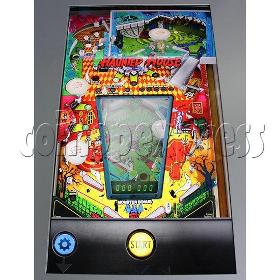 Haunted House Digital Pinball Machine with 12 Gottlieb Games (Toyshock) - screen display 2