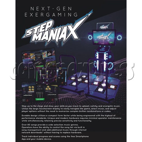 Step ManiaX Dancing Machine catalogue