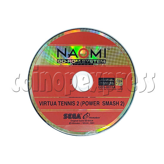 Virtua Tennis 2 (Power Smash 2) software (CD only)