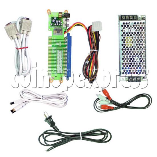 3.3V Power Supply Kit for NAOMI Game System Board - full set